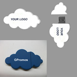 Cloud shape USB flash drive 2GB