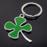 Clover Metal Pendant Key Chain
