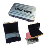 Coded Suitcase Shaped Name Card Case