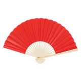 Colorful Oriental Folding Fan