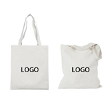Cotton Canvas 12 oz Grocery Tote Bag