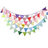 Custom Promotional Fabric Bunting