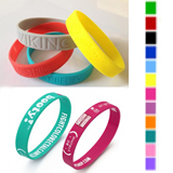 Custom Silicone Bracelet, Sports Wristband