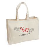 Customized canvas gift bag