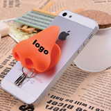 Cute Nose Cable Winder Headphone & Phone Holder 3pc KeyRing