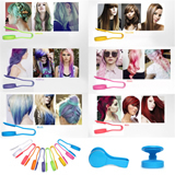 Disposable Staining Clip/ Temporary Hair Chalk