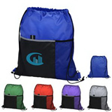 Dual Pocket Drawstring Sport pack