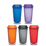 Eco-Friendly Tableware Double Wall Drinking Glass Tumbler