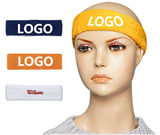 Elastic Sport Headband With Embroidery LOGO