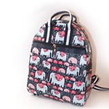 Elephant Pattern Backpack