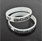 Embossed  silicon bracelets