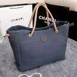 Fashion Canvas Shoulder Shopping Bag