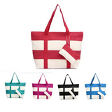 Fashion canvas women beach bag