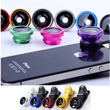 Fisheye 3 in 1 Universal  Clip Lens for Phone