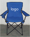 Foldable beach chair with carry bag