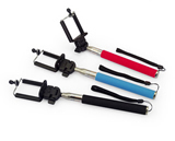 Foldable monopod selfie-stick wireless bluetooth with remote