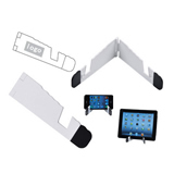 Folding I pad and I phone Holder