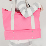Folding Travel Layer Bag Canvas Tote