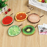 Fruit Printing Coins Pouch
