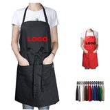 Full Length Apron With Two Pockets