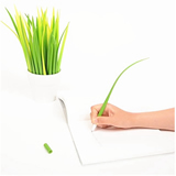 Greative silicone grass pen