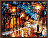 Hand Painted Modern Landscape Oil Painting Art Gallery