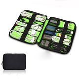 Hard Drive Earphone Cables USB Flash Drives Storage Bag