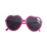 Heart Shape Transparent Sunglasses
