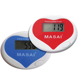Heart-Shaped Monofunctional Electronic Pedometer