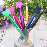Heart-shaped designs ball pens