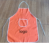 Household cooking apron with Logo printed