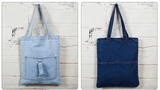 Jean Tote Shopping Bag