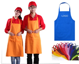 Kitchen cooking canvas apron