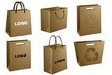 Kraft Paper Bag with Windows