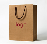Kraft paper handbags & shopping bags