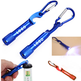 LED Flashlight with Bottle Opener/Carabiner