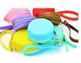 Lovely colorful macaroon silicone jelly bag