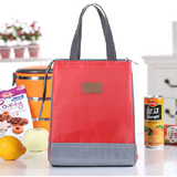 Lunch Cooler Canvas Tote