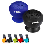 Mini blue tooth speaker with suction cup