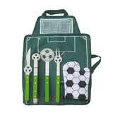 New soccer stainless steel picnic Tools-5 Piece