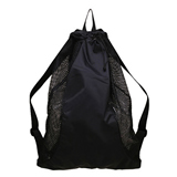 Nylon Mesh Drawstring Backpack