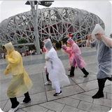 One-Time Raincoat Fashion Hot Disposable Raincoats