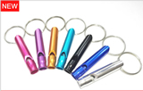 Outdoor Aluminum Alloy Survival Whistle, Metal Whistle