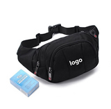 Outdoor travel waist bag & fanny pack