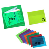 PP transparent document portfolio/file bag/document folder