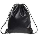 PU Leather Drawstring Bags