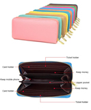 PU leather latest design ladies purse