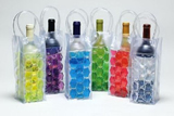 PVC Ice Bags, Wine Bottle Gel Cooler Bags, Promotional Ice P