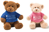 Plush Teddy Bears with T-shirt