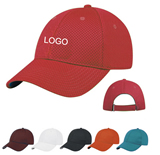 Polyester Sports Mesh Cap